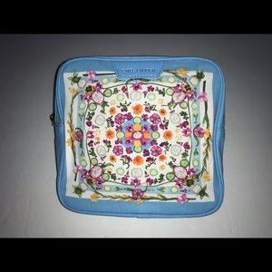 Estée Lauder Square Blue Cosmetic Bag